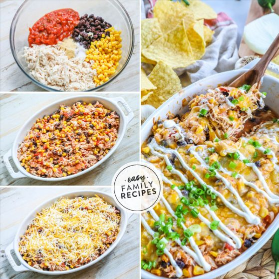 Mexican Chicken Casserole Step by Step