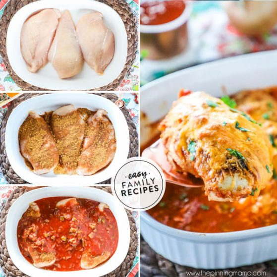 Steps to make Oven Baked Salsa Chicken