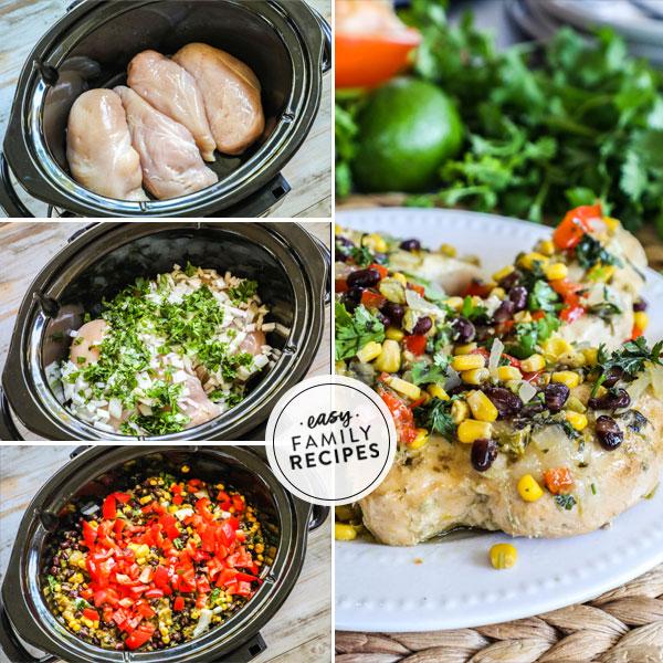 Crock Pot Southwest Chicken · Easy Family Recipes