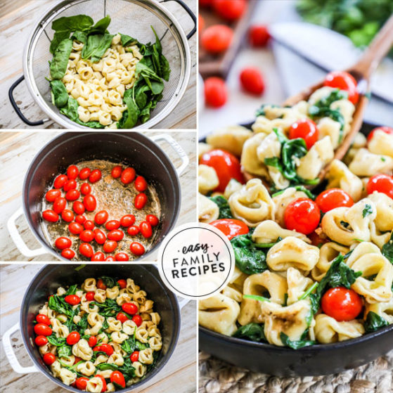 Steps to make Brown Butter Tortellini