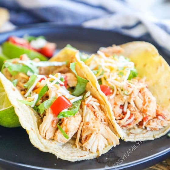 BEST EVER Chicken Tacos· Easy Family Recipes