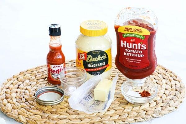Ingredients used to make Yum Yum Sauce ( ie shrimp sauce, pink sauce) at japanese hibachi restaurant