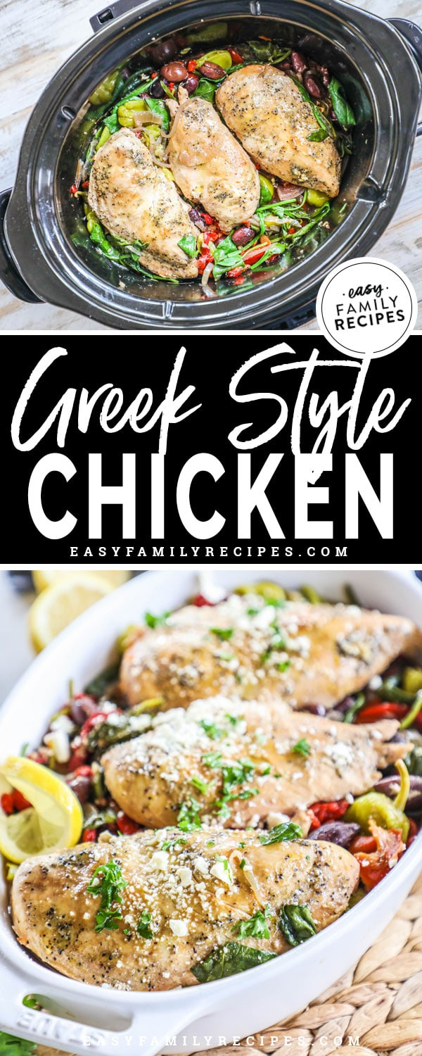Greek Chicken in the crock pot